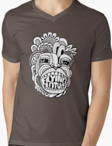 Flying Lotus Mens V-Neck T-Shirt