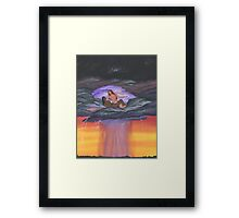 Heart of the Storm Framed Print