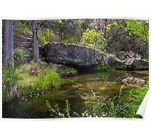 Boulders At Hamilton Pool Preserve Poster