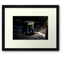 Time Is Wasting Away Framed Print