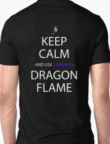 yu yu hakusho keep calm and use dragon darkness flame anime manga shirt T-Shirt