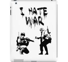 I Hate War Banksy iPad Case/Skin