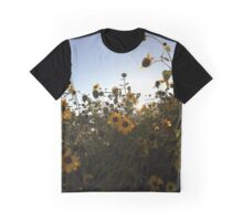A Sea of Sunflowers Graphic T-Shirt