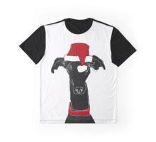 greyhound xmas Graphic T-Shirt