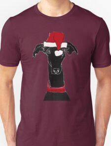 greyhound xmas Unisex T-Shirt