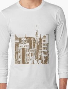 Downtown Battle Mountain Long Sleeve T-Shirt