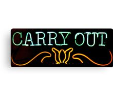 Carry Out Canvas Print