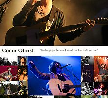 Conor Oberst Collage by nienasyconyglod