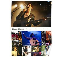 Conor Oberst Collage Poster