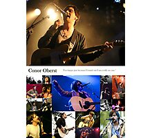 Conor Oberst Collage Photographic Print
