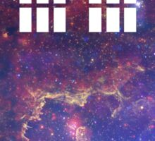 Galaxy Tardis Sticker
