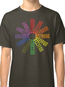 Hex color wheel Classic T-Shirt