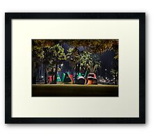Buoys in the Jungle Framed Print