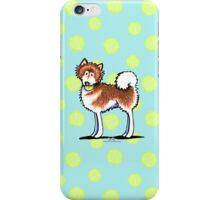 Alaskan Malamute Playful Redhead iPhone Case/Skin