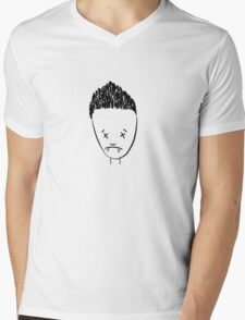 Spikes drawing of Angel - (TSHIRT) Mens V-Neck T-Shirt