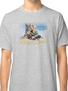 Paul Walker Inspiring Quotes Classic T-Shirt