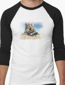 Paul Walker Inspiring Quotes Men's Baseball ¾ T-Shirt