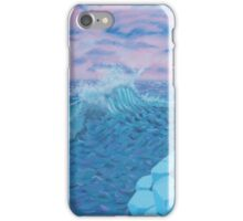 Giants Causeway seascape iPhone Case/Skin
