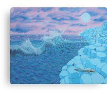 Giants Causeway seascape Canvas Print