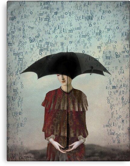 Leaving me speechless by Catrin Welz-Stein