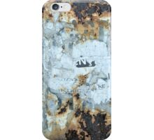 Bucharest abstract iPhone Case/Skin