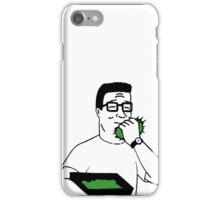 Hank Hill - Why Do Drugs Again iPhone Case/Skin