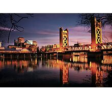 Sacramento Reflections Photographic Print