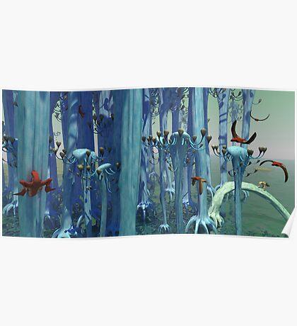An Alien Forest Poster
