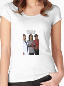 Shondaland - Winter is coming Women's Fitted Scoop T-Shirt