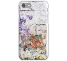 Scratch scribble peel iPhone Case/Skin