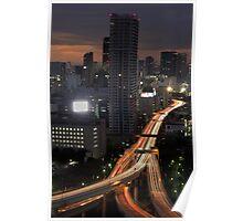 Tokyo Traffic Flow - Japan Poster