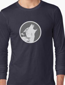 House Stark 2 - Ghost Long Sleeve T-Shirt