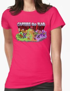 Capture the Flag Womens Fitted T-Shirt