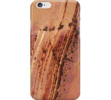Jagged rust iPhone Case/Skin