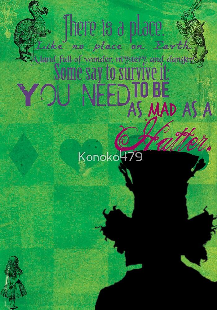 The Mad Hatter by Konoko479