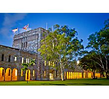 Twilight - UQ Campus Photographic Print