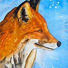 Fox in the Snow by Alexandra Felgate