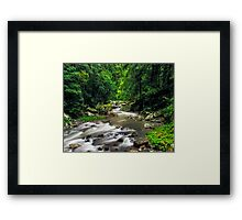 Heart of the Valley Framed Print