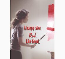 Cristina Yang - A happy color. Red. Like Blood. T-Shirt