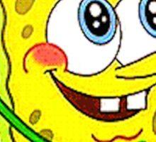 """Am I A Pretty Girl?"" SpongeBob Squarepants Sticker"