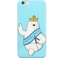 Honorable Ice Bear iPhone Case/Skin
