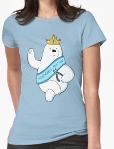 Honorable Ice Bear Womens Fitted T-Shirt