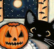 Scary Pumpkin by Shelly  Mundel