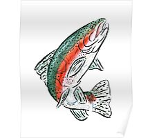 Topo Trout Poster