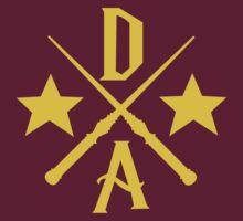 Dumbledore's Army Cross by Derrick Hunt