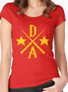 Dumbledore's Army Cross Women's Fitted Scoop T-Shirt