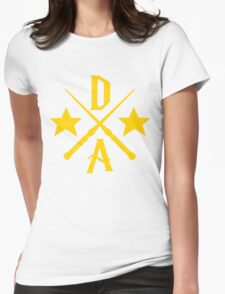 Dumbledore's Army Cross Womens Fitted T-Shirt