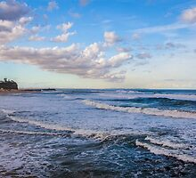 Nobby Beach, Newcastle NSW by nammo