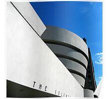 Guggenheim Museum #2 Poster