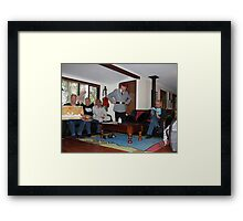 split personality I don't think so Framed Print